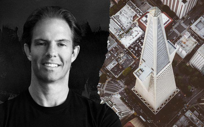 Michael Shvo and the Transamerica Building in San Francisco and  (Unsplash)