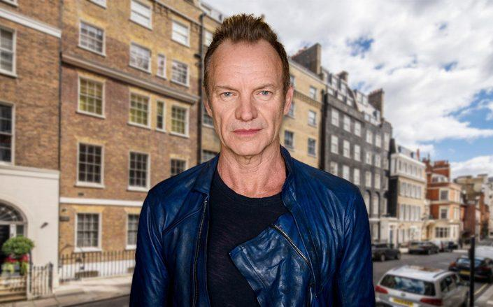 Sting and the house (Credit: Stefan Hoederath/Getty Images, and Beauchamp Estates)