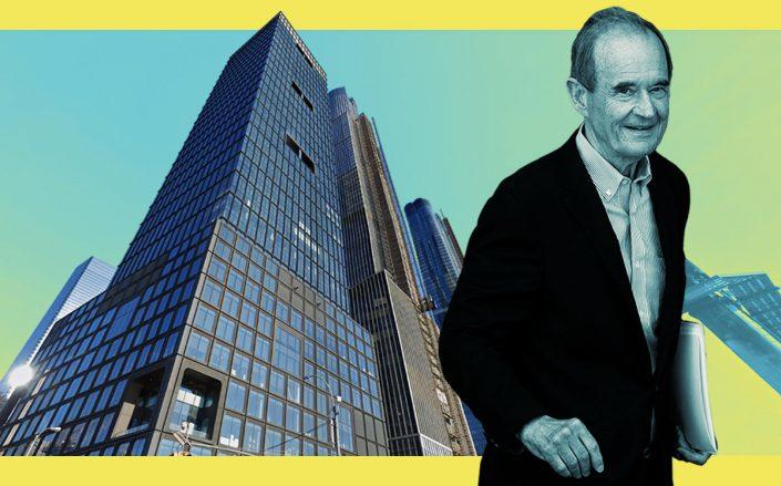 David Boies and 55 Hudson Yards (Getty, Google Maps)