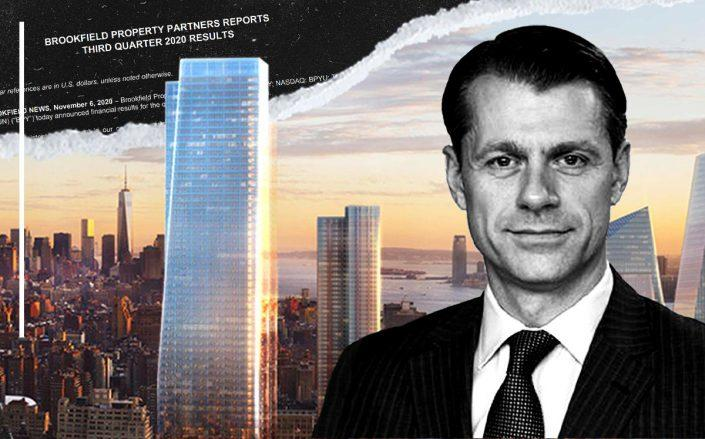 One Manhattan West and Brookfield CEO Brian Kingston (Brookfield)