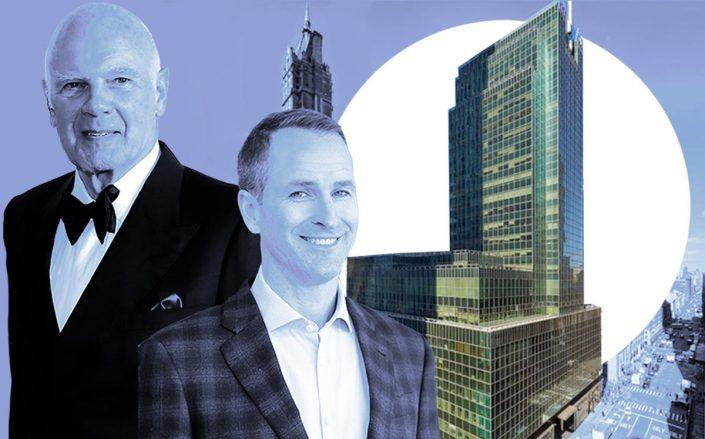 Vornado CEO Steven Roth, Oxford Properties president Michael Turner and 650 Madison Avenue (Getty, Linkedin, VNO)