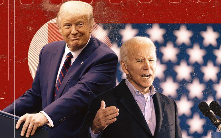 Donald Trump and Joe Biden (Getty)
