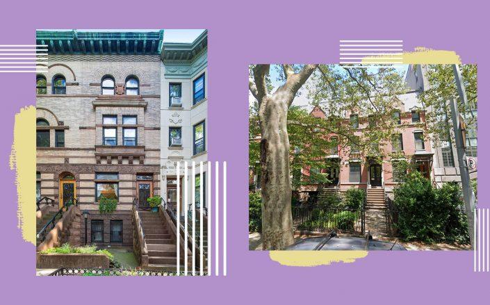17 Polhemus Place and 7A 2nd Place in Brooklyn (Photos via StreetEasy; Google Maps)