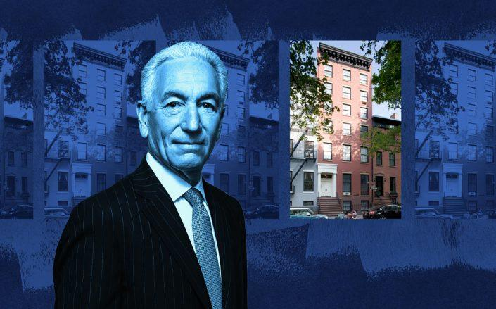 Charles Kushner and 18 Sidney Place (18 Sidney Place via StreetEasy)