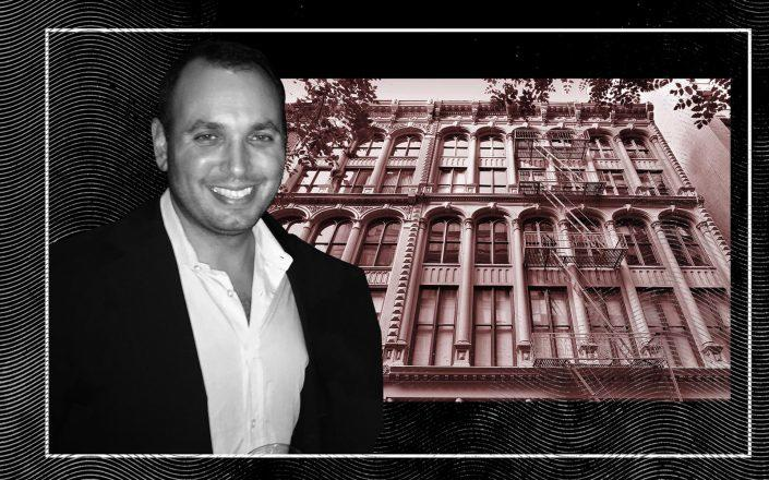 Magnum Real Estate's Ben Shaoul and 87 Leonard Street (Getty; StreetEasy)