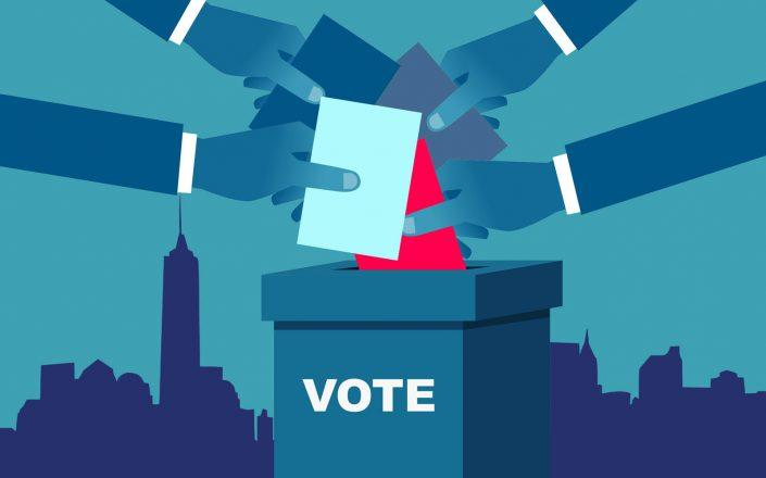 New York Democrats now lead in 39 races as the counting of mail-in ballots continues. (iStock)