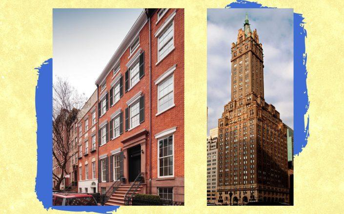 111 Waverly Place and 781 Fifth Avenue (Photos via MAD Nyc; StreetEasy)