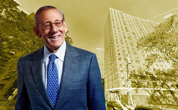 Related chairman Stephen Ross and 265-475 Cherry Street (Getty; Google Maps)