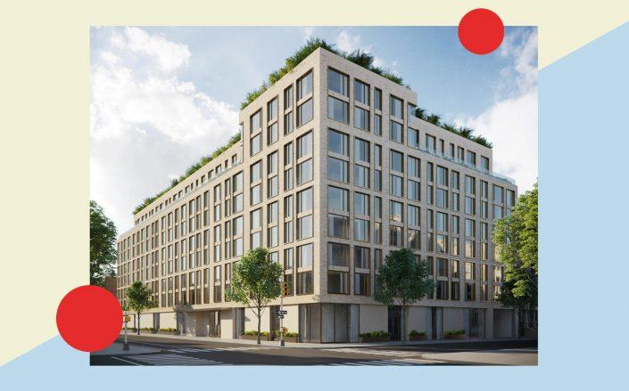 A rendering of 153-10 88th Avenue in Jamaica (Photo via Zara Realty)
