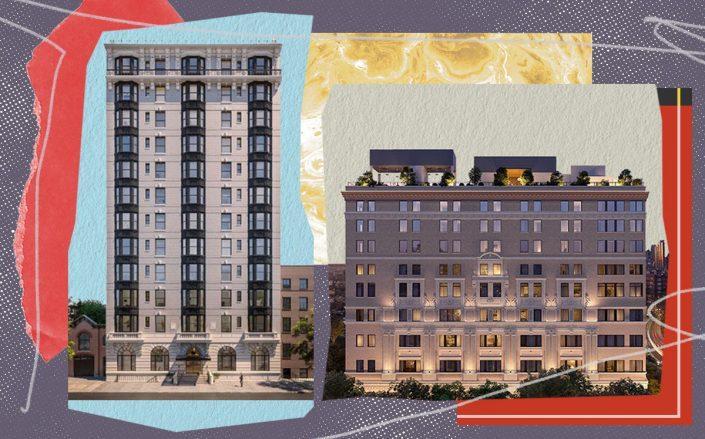 The Standish condominium and One Prospect Park West (Corcoran, One Prospect Park West, iStock)