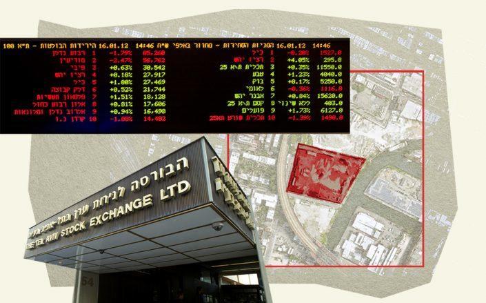 459 Smith Street in Gowanus and the Tel Aviv Stock Exchange (Google Maps, Getty)
