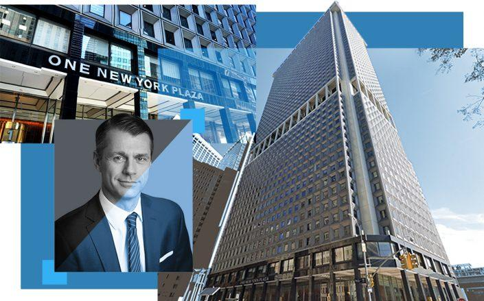One New York Plaza and Brookfield Property Partners CEO Brian Kingston (Google Maps)