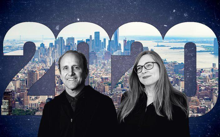 Marvel's Jonathan Marvel and Dattner's Kirsten Sibilia