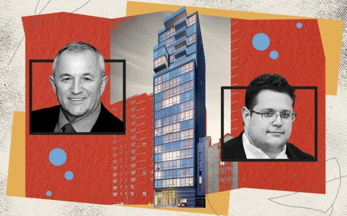 The Vitre at 302 East 96th Street with Wonder Works Construction's Joseph Klaynberg and Daniel Klaynberg (Vitre NY; Wonder Works; iStock)