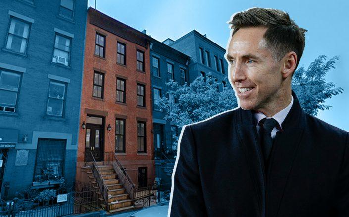 Steve Nash and his townhouse in Cobble Hill, Brooklyn (Getty, Google Maps)