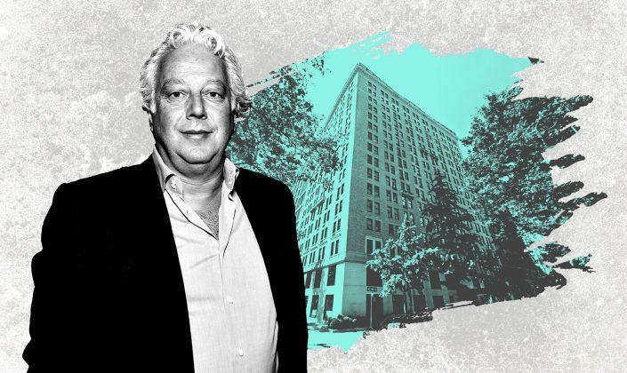 The Gramercy Park Hotel at 2 Lexington Avenue and Aby Rosen of RFR Holding (Getty; Google Maps)
