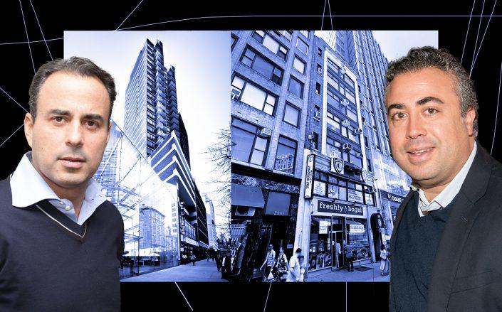 From left: Ben Ashkenazy, 1991 Broadway, 2067 Broadway and Samuel Gindi (Getty; Google Maps)
