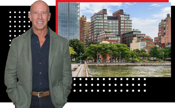 Barry Sternlicht and 150 Charles Street (Photos via Getty; Compass)