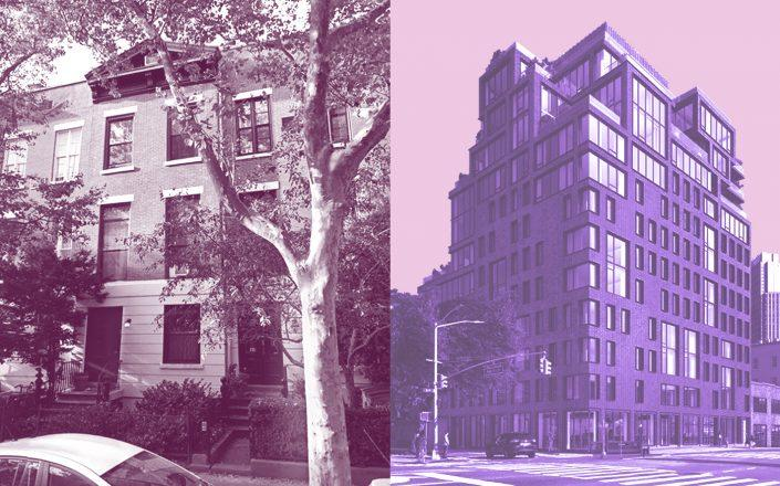 195 Amity Street and 561 Pacific Street in Brooklyn (Photos via Google Maps; 561 Pacific)