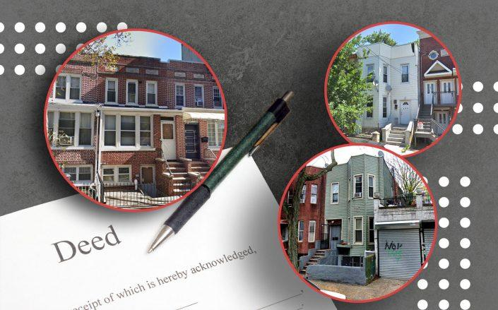 From left: 161 East 29th Street in East Flatbush, 2 Jardine Place in Ocean Hill and 163 Montauk Avenue in Cypress Hills (Google Maps)