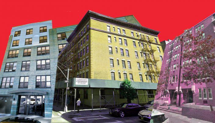 2514 Albemarle Road in Flatbush, 242 and 246 Bradhurst Avenue and 5 West 91st Street (Google Maps)