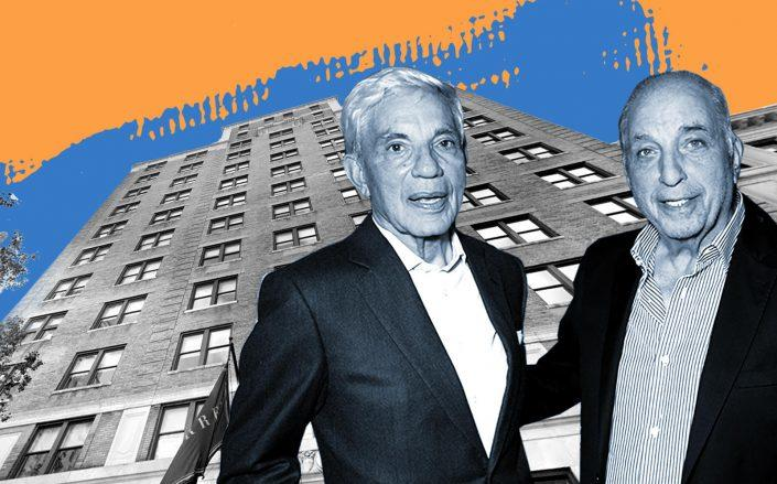 Simon and David Reuben with 20 East 76th Street (Getty; Google Maps)