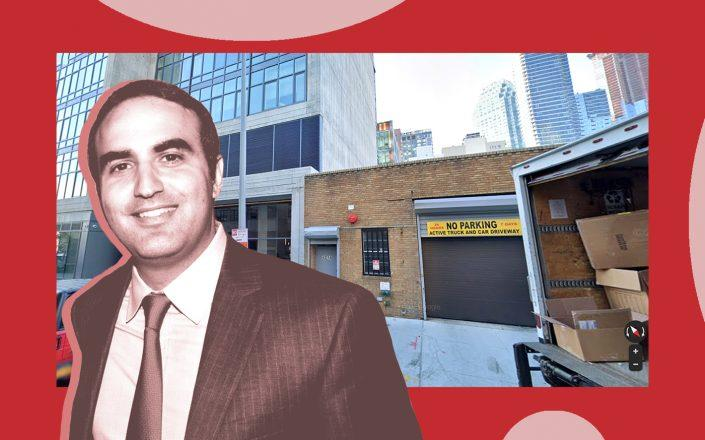 Rockrose's Justin Elghanayan and 43-14 Queens Street (Google Maps)