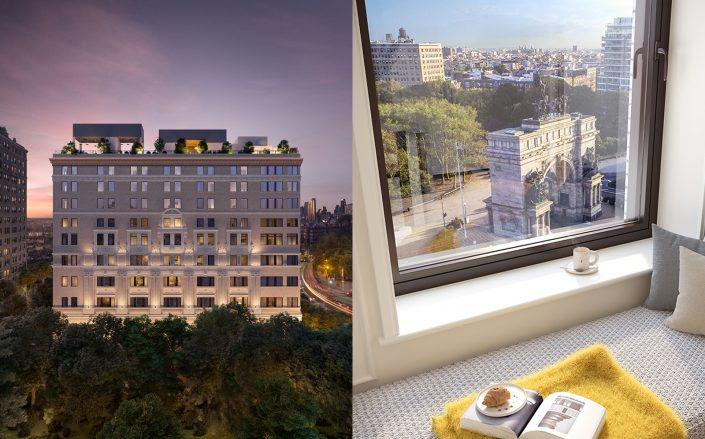 The two most expensive contracts signed last week were condos at One Prospect Park West. (Douglas Elliman)