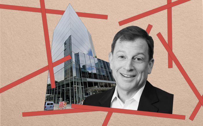 Meadow Partners Managing Partner Jeff Kaplan and 860 Washington Street (Google Maps)