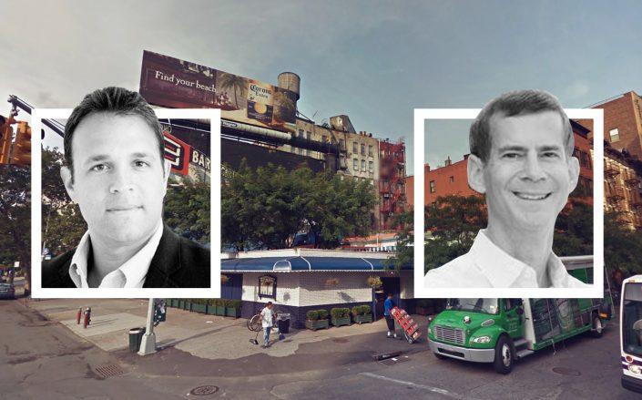 SK Development's Scott Shnay and Ironstate's Michael Barry (Google Maps, Scott Shnay via LinkedIn)