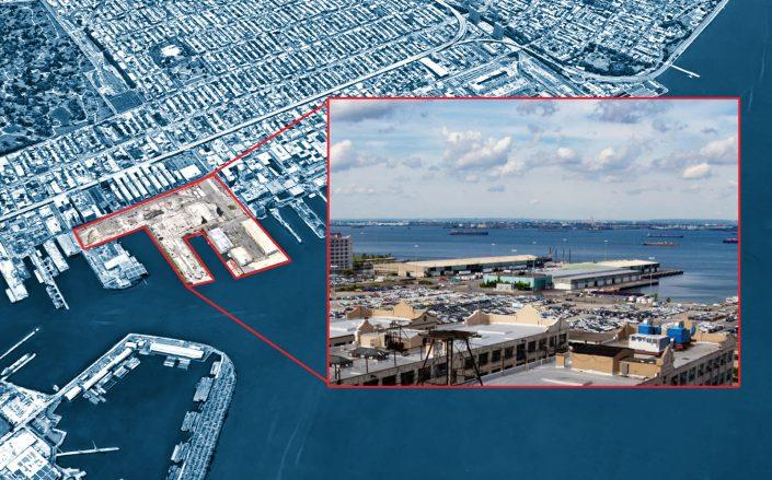 The South Brooklyn Marine Terminal (Google Maps; Waterfront Alliance)