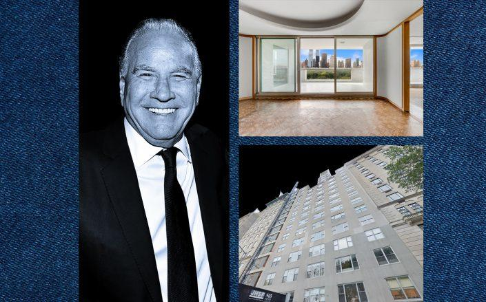 Ralph Nakash and 812 Fifth Avenue (Photos via Getty; Google Maps; StreetEasy)