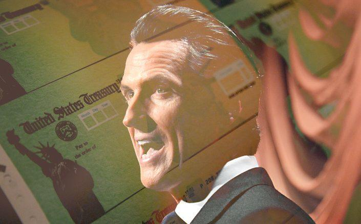 Gov. Gavin Newsom has proposed more than half a billion dollars to help small businesses statewide. (Getty)