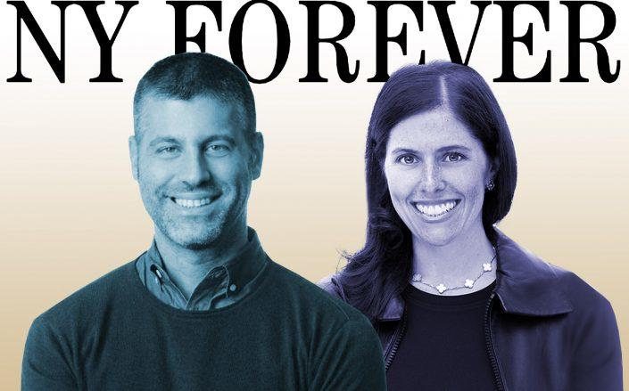 Risa Heller and Jonathan Rosen launched NY Forever earlier this week. (Risa Heller, Berlin Rosen)