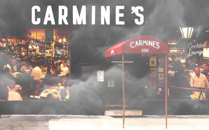 Carmine's battles landlord over unpaid rent. (Getty, Carmine's)