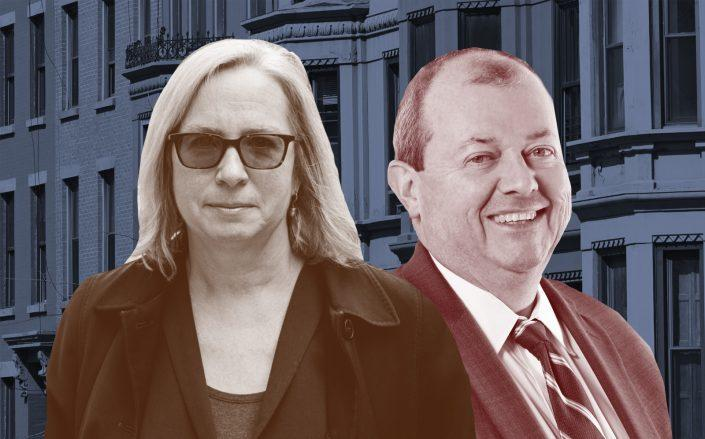 Legal Aid's Judith Goldiner and REBNY's James Whelan have teamed up. (Getty, REBNY, Legal Aid)