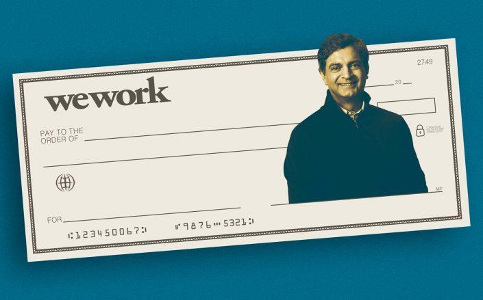 WeWork CEO Sandeep Mathrani (WeWork; iStock)