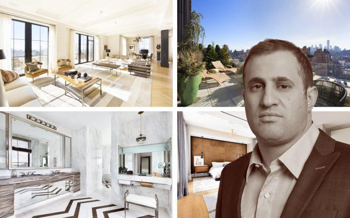 Michael Stern's Walker Tower condo among 38 luxury contracts inked last week. (Compass)