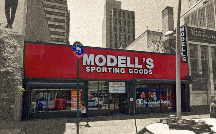 Modell's at 360 Fulton Street, Brooklyn (Google Maps)