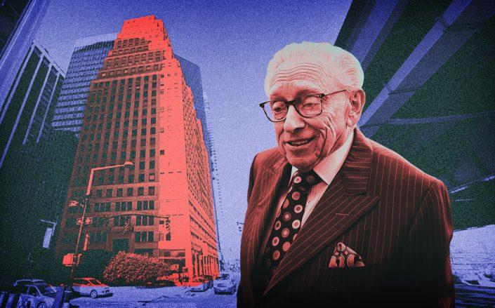 Larry Silverstein and 120 Wall Street (Getty, Google Maps)