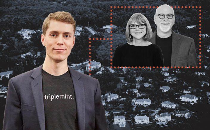 Triplemint CEO David Walker with Carol Marrone and Owen Berkowitz (iStock)