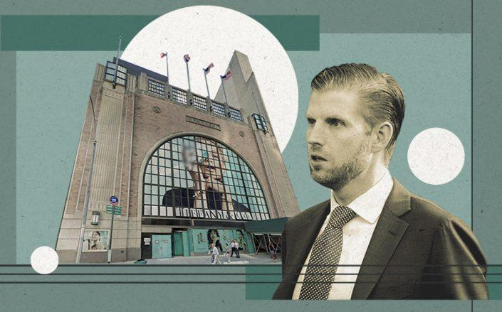 Eric Trump and 6 East 57th Street (Getty, Google Maps)