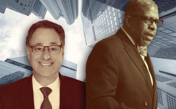 RAB president Howard Rothschild and 32BJ president Kyle Bragg. (Getty, 32BJ, LinkedIn via Howard Rothschild)
