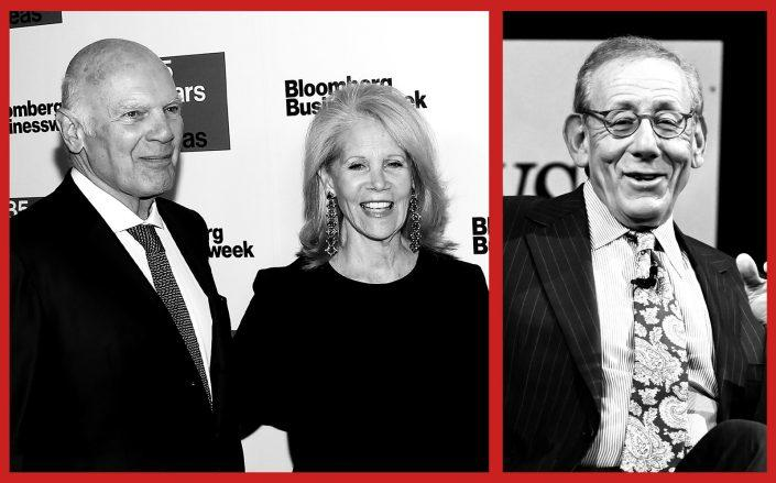 Vornado Realty Trust's Steve Roth, Daryl Roth and Related Companies CEO Stephen Ross (Getty)