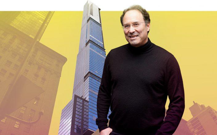 Central Park Tower at 217 West 57th Street and Extell president Gary Barnett