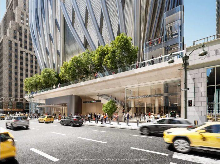 Renderings of 175 Park Avenue (Rendering via SOM)