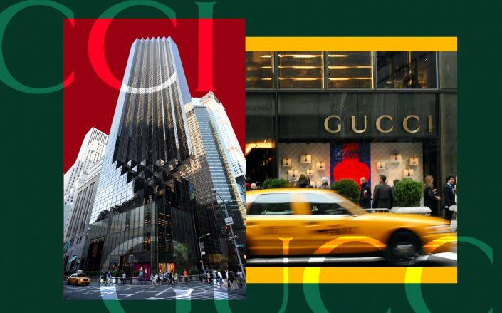 Gucci at Trump Tower (Getty)