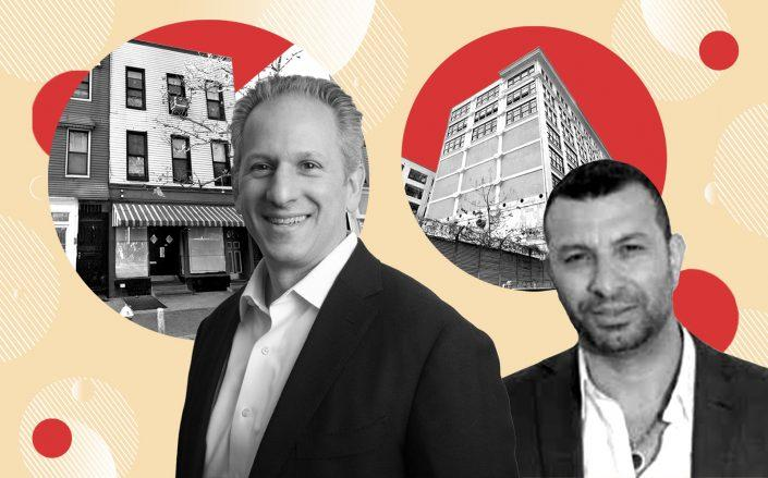 L3 Capital's Domenic Lanni (left) with 188 Bedford Avenue and Sela Group's Gal Sela with 29 Ryerson Street (Photos via L3 Capital, LinkedIn, Google Maps)