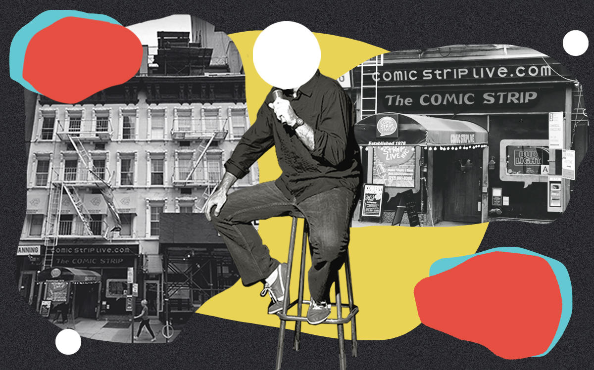 Comic Strip Live at 1568 Second Ave (Google Maps, iStock/Illustration by Alexis Manrodt for The Real Deal)