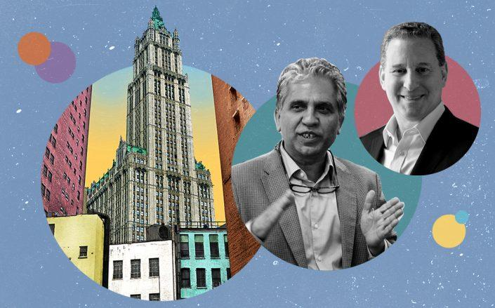 Woolworth Tower with Rudra Pandey and Alchemy Properties' Ken Horn (Getty, Wikipedia Commons)